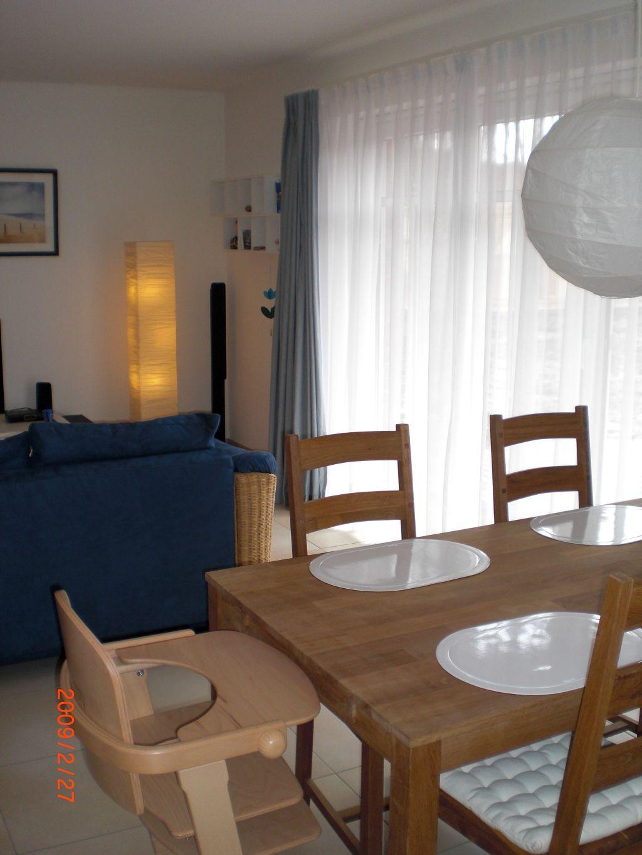 ferienwohnung holm sankt peter ording wohn u esszimmer. Black Bedroom Furniture Sets. Home Design Ideas